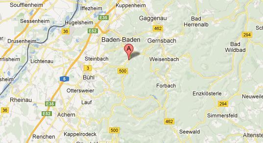 Баден-баден курорт где находится